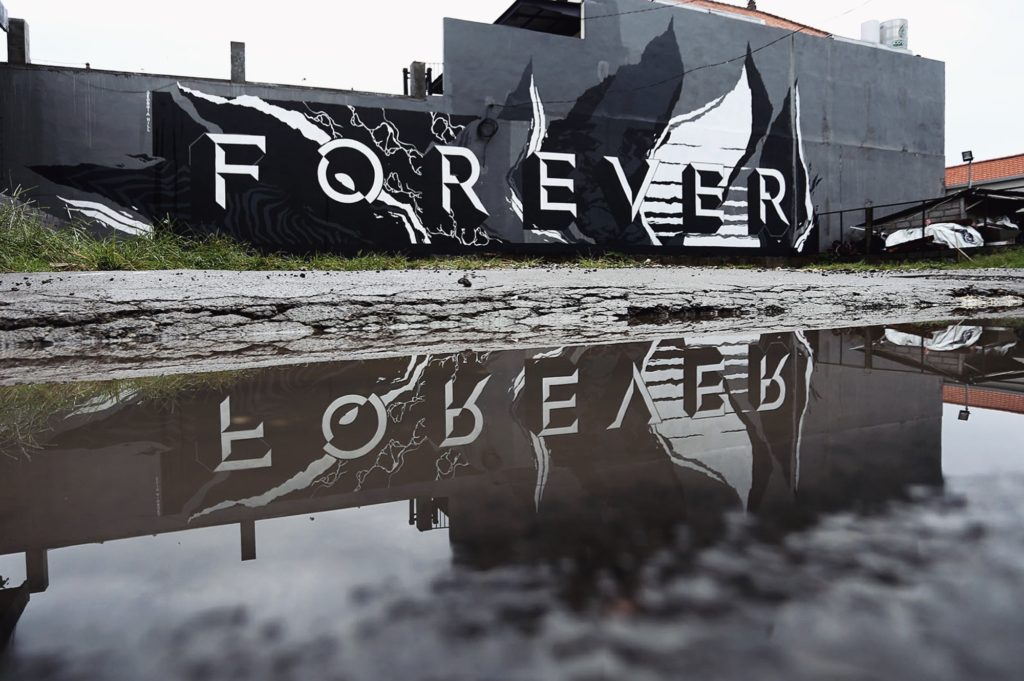 Georgia Hill Street Art News Forever Bali Indonesia Tropica StreetArtNews